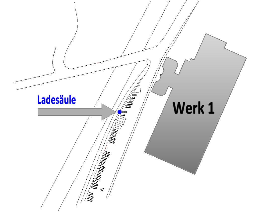 E-Ladesäule Pforzheim