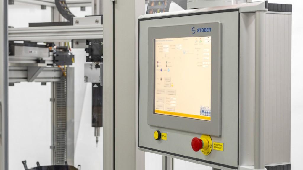 Drei-Achsen-CNC-System