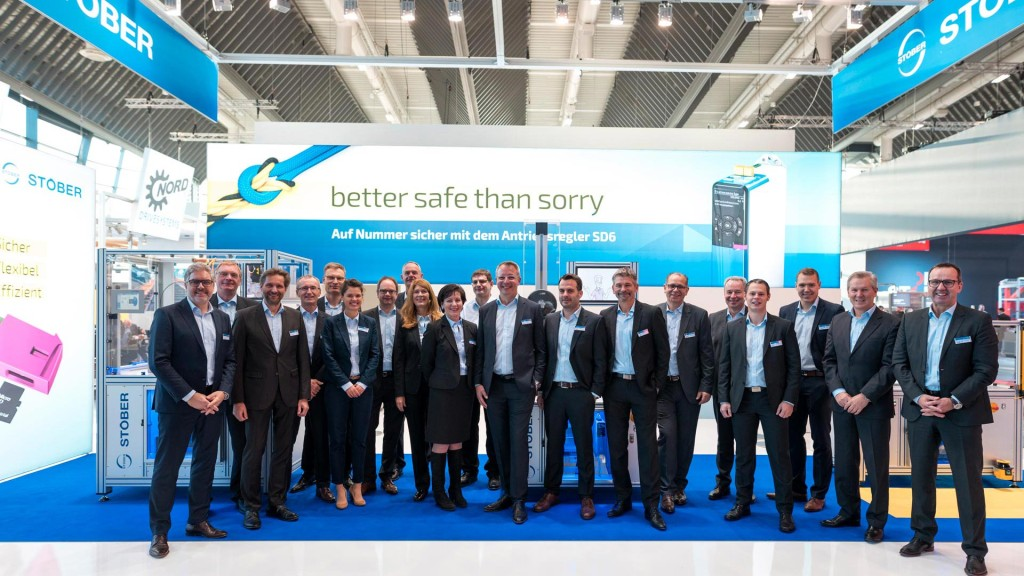 STOBER at the SPS IPC Drives show in Nuremberg